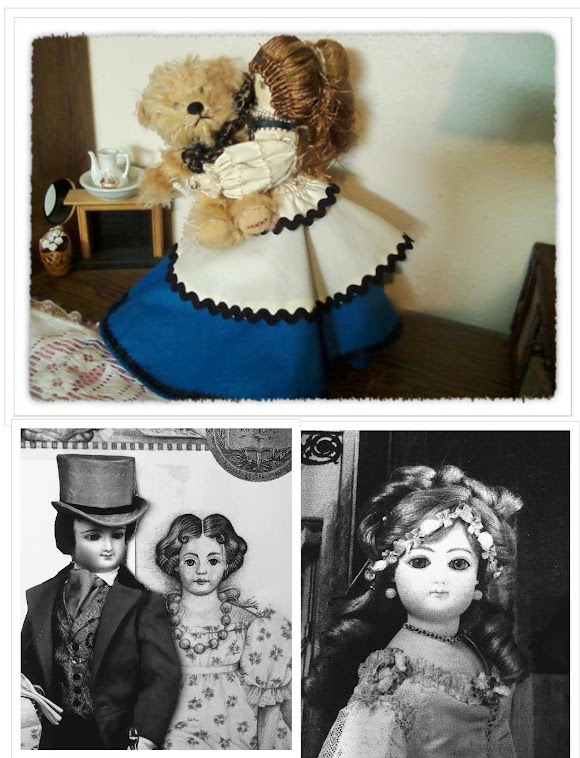 Celeste the Dolly. A Victorian Doll's Scrapbook