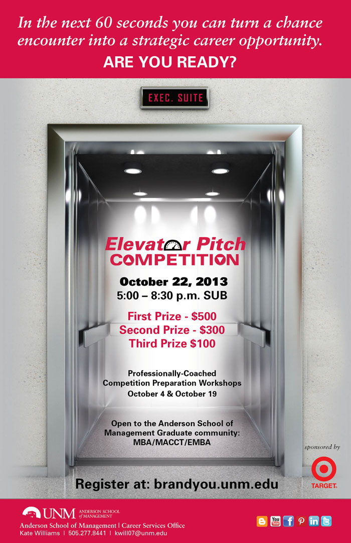This is Anderson: Elevator Pitch Competition