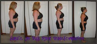 Sara Stakeley P90X transfermation