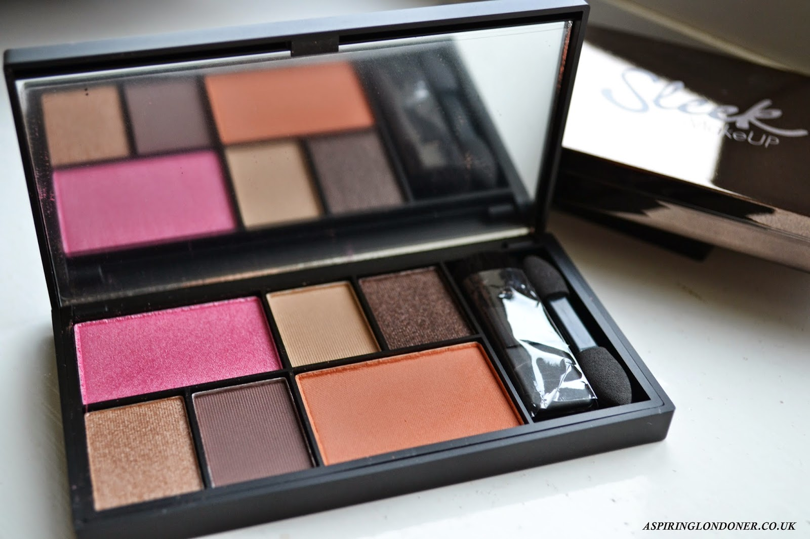 Sleek MakeUp Eye & Cheek Palette Dancing Till Dusk Review - Aspiring Londoner