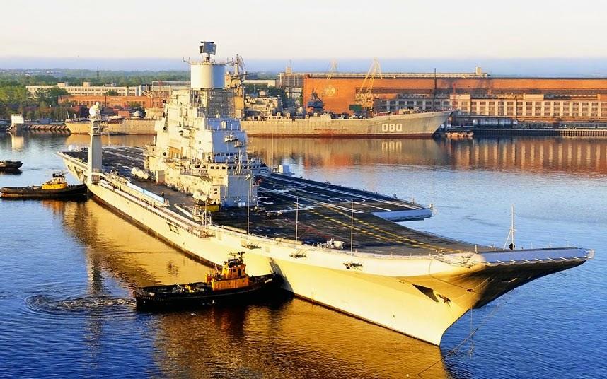 Warship: INS Vikramaditya, India
