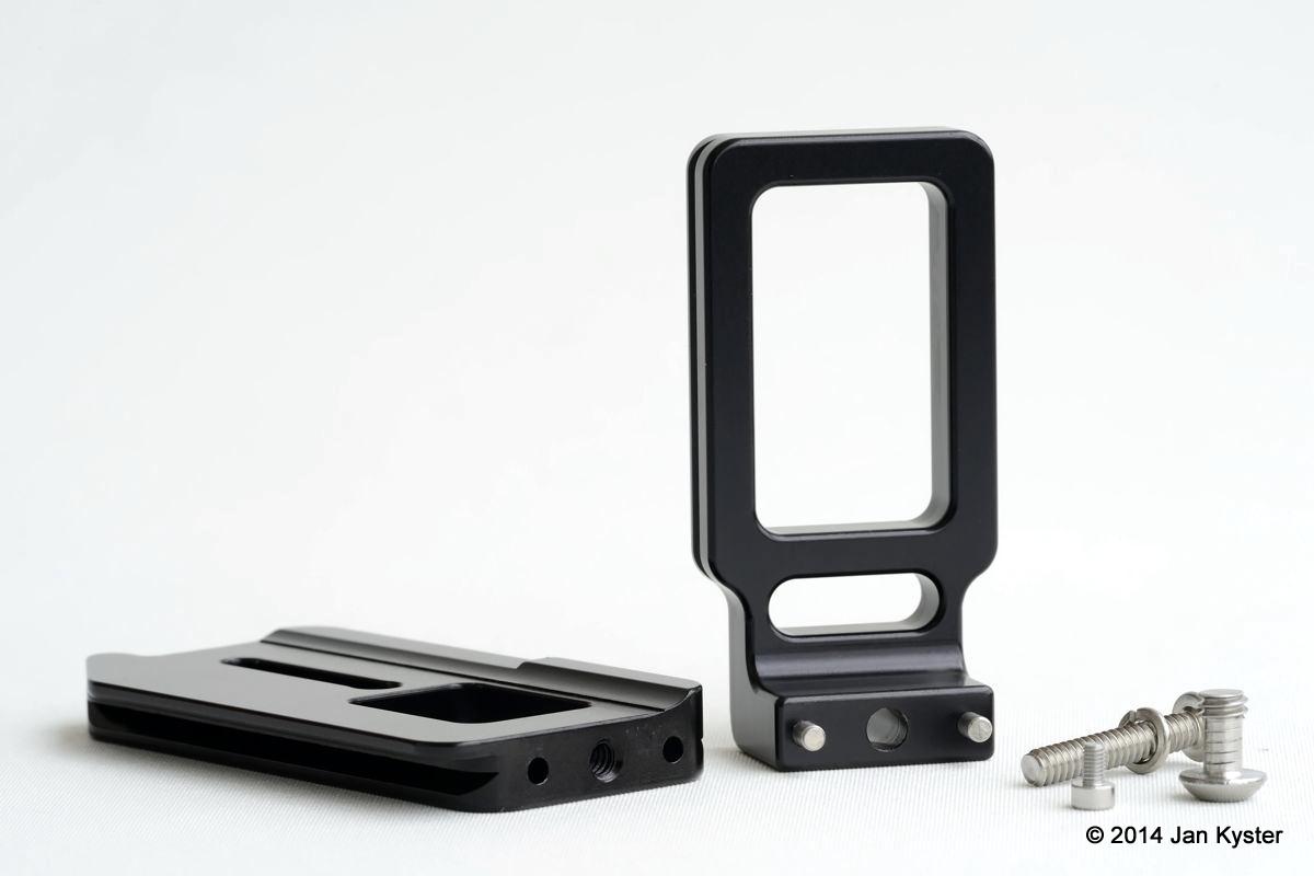 Hejnar ND800 Modular L Bracket components
