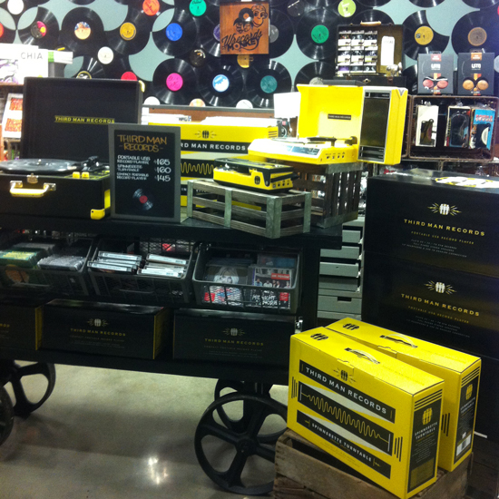 Third Man Records im Supermarkt