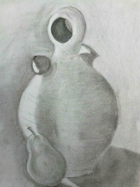 dibujo alumnos estudio orzan