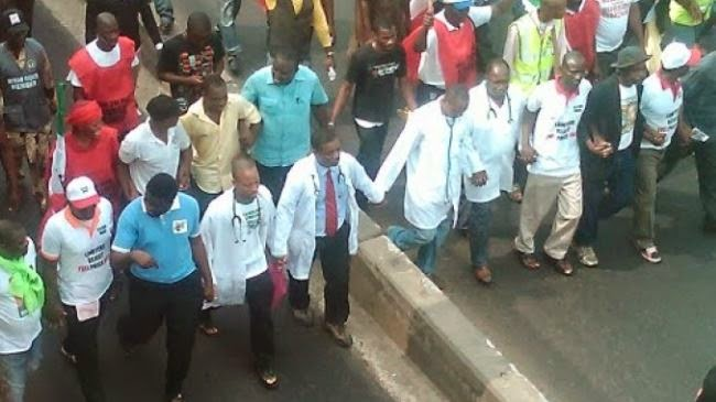 Nigerian doctors strike over healthcare