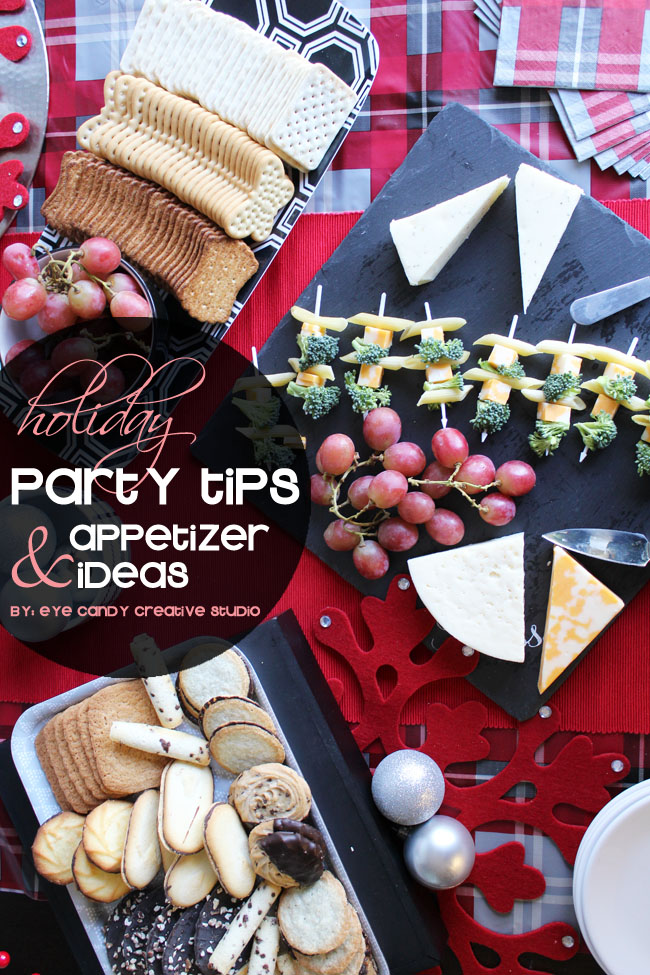 holiday party tips, appetizer ideas, holiday pasta bites, pepperidge farm