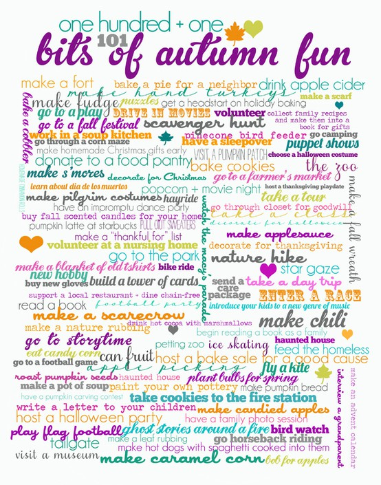 Fun Things To Do For Fall
