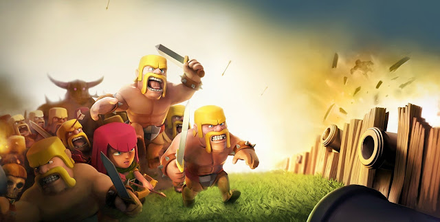 Clash Of Clans Game HD Wallpaperz ajkqlso