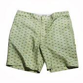 Tanks Green Stripe Shorts