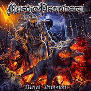 upcoming releases :Mystic Prophecy Metal Division Rock Of Angels Records, January 10, 2020