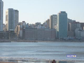Foto Playa de Mar del Plata