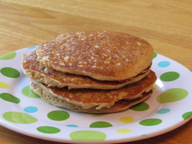 Make this whole grain pancake mix to keep on hand for a quick, healthy weekday breakfast.