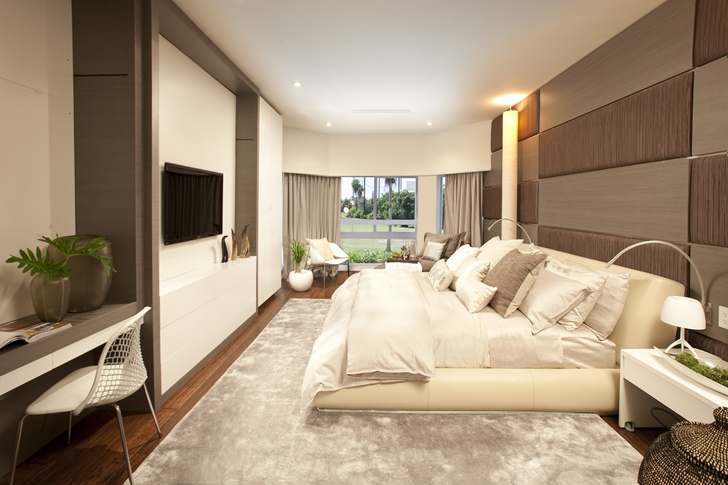 Bedroom in Modern home by DKOR Interiors