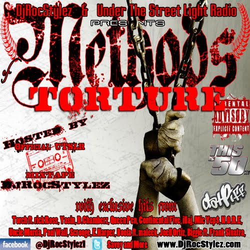 METHODS OF TORTURE HOSTED BY DJROCSTYLE RAYDO PRODUCED TRACKS 5 & 11. RELEASED 3/ 1/12