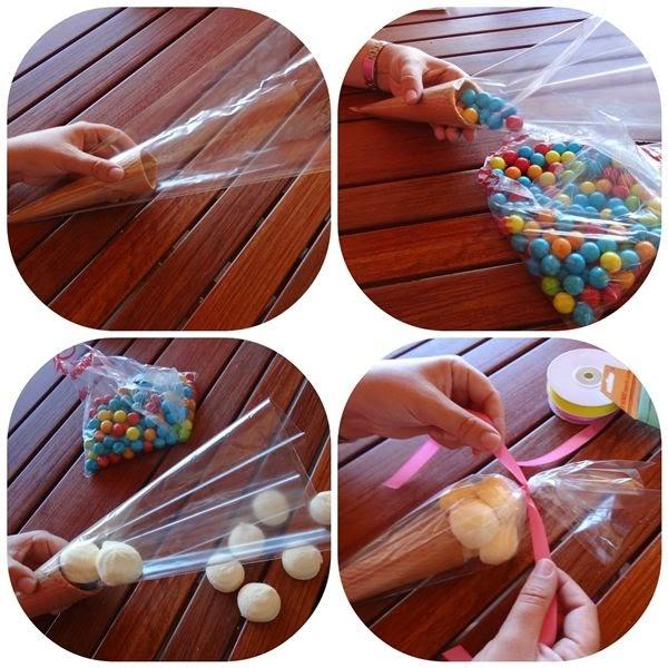 Cucuruchos de chuches para comuni n somosdeco blog de - Cosas originales para decorar ...