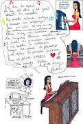 Poema de amor de Silvia escrito a mano por ella para Héctor e ilustrado por . (poema de amor de silvia hector)