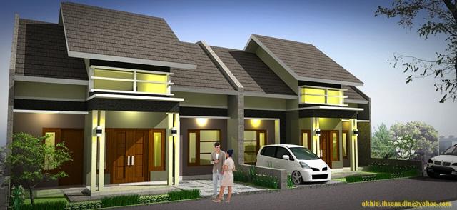 Desain Rumah Mewah Minimalis Type 70