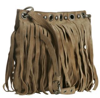 Moda bolsas com franjas
