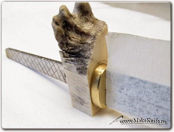Как сделать нож своими руками ручку