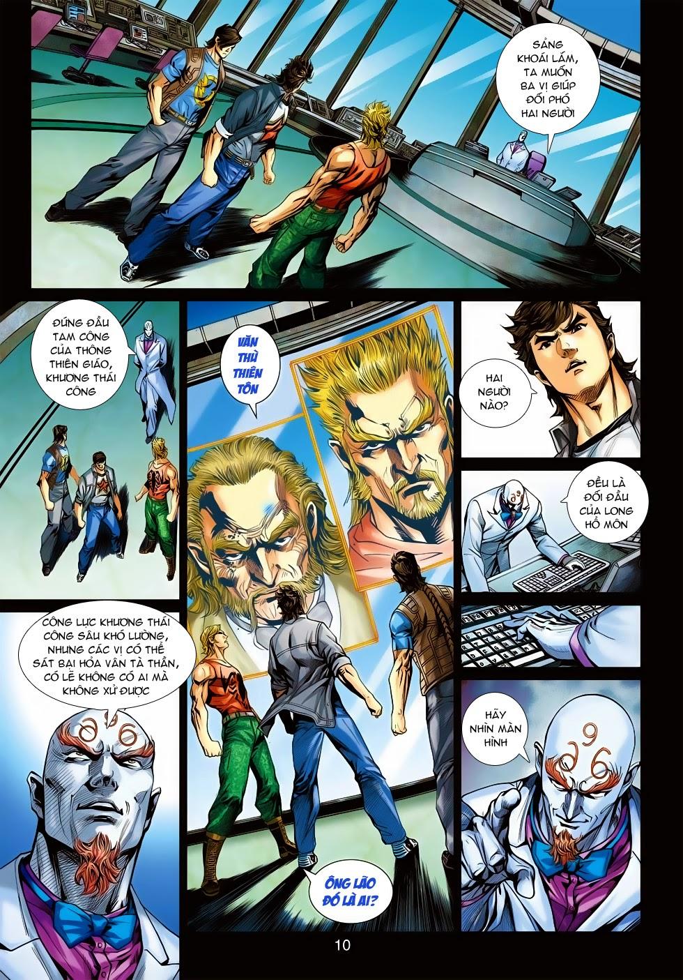 Tân Tác Long Hổ Môn trang 9