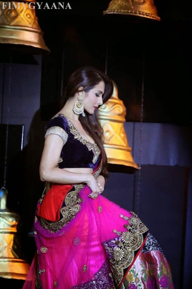 Malaika Arora Khan Looking Hot in Saree Photos