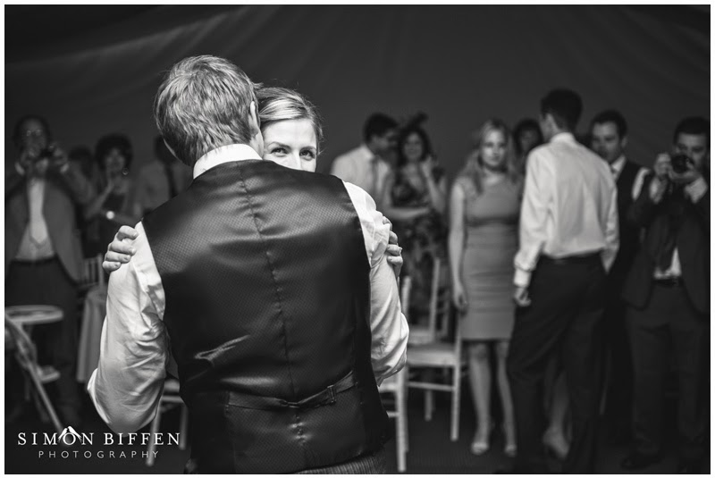 Bride and Groom first dance at Newton House wedding