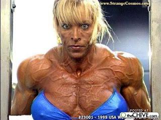 Do you find female bodybuilders attractive?