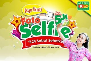 "Info Kontes - Kontes Foto Selfie ""k24 sobat sehatku"" Berhadiah Total 5 juta"