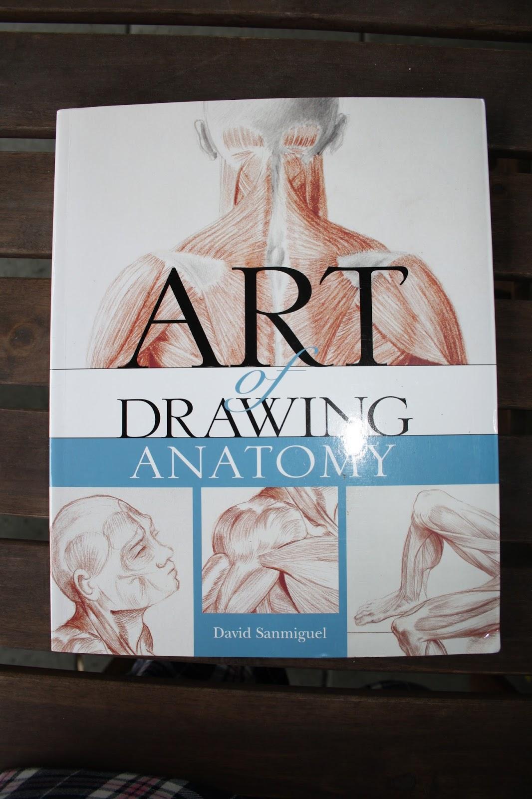 Anita Illustrated: Art of Drawing Anatomy by David Sanmiguel - book ...