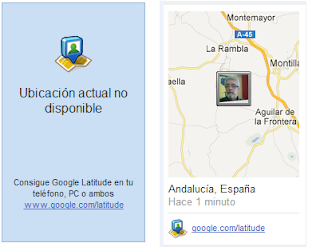 Geolocalización Google Latitude