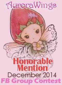 I Got An Honorable Mention At Aurora Wings FB Group