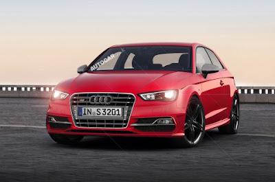 Audi S3 2013 : Présentée au Mondial de Paris 2012