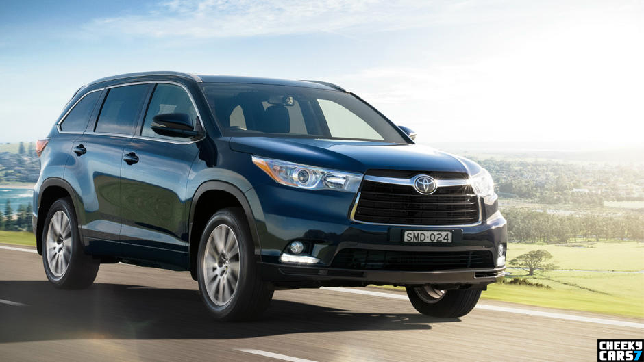 7 seater suv toyota kluger 2015 australia video and images new suv 2015 photos car videos. Black Bedroom Furniture Sets. Home Design Ideas
