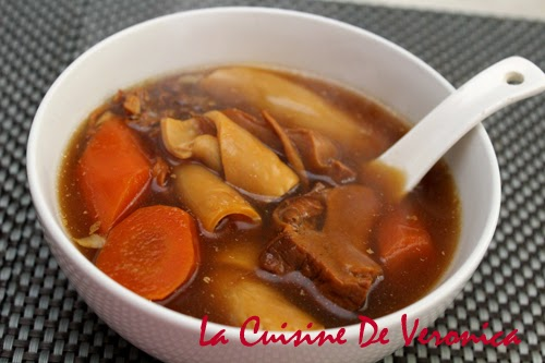 La Cuisine De Veronica,V女廚房,老火湯,花膠螺頭蟲草花紅蘿蔔煲瘦肉