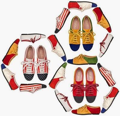 colección zapatos Pretty Ballerinas Mundial Brasil 2014