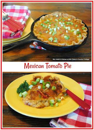 Mexican Tomato Pie