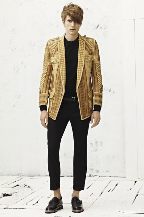 Balmain Spring-Summer 2013 Men's Fashion