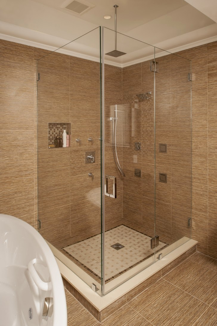 Elegant Frameless Glass Shower Doors ~ Manhattan Shower Doors