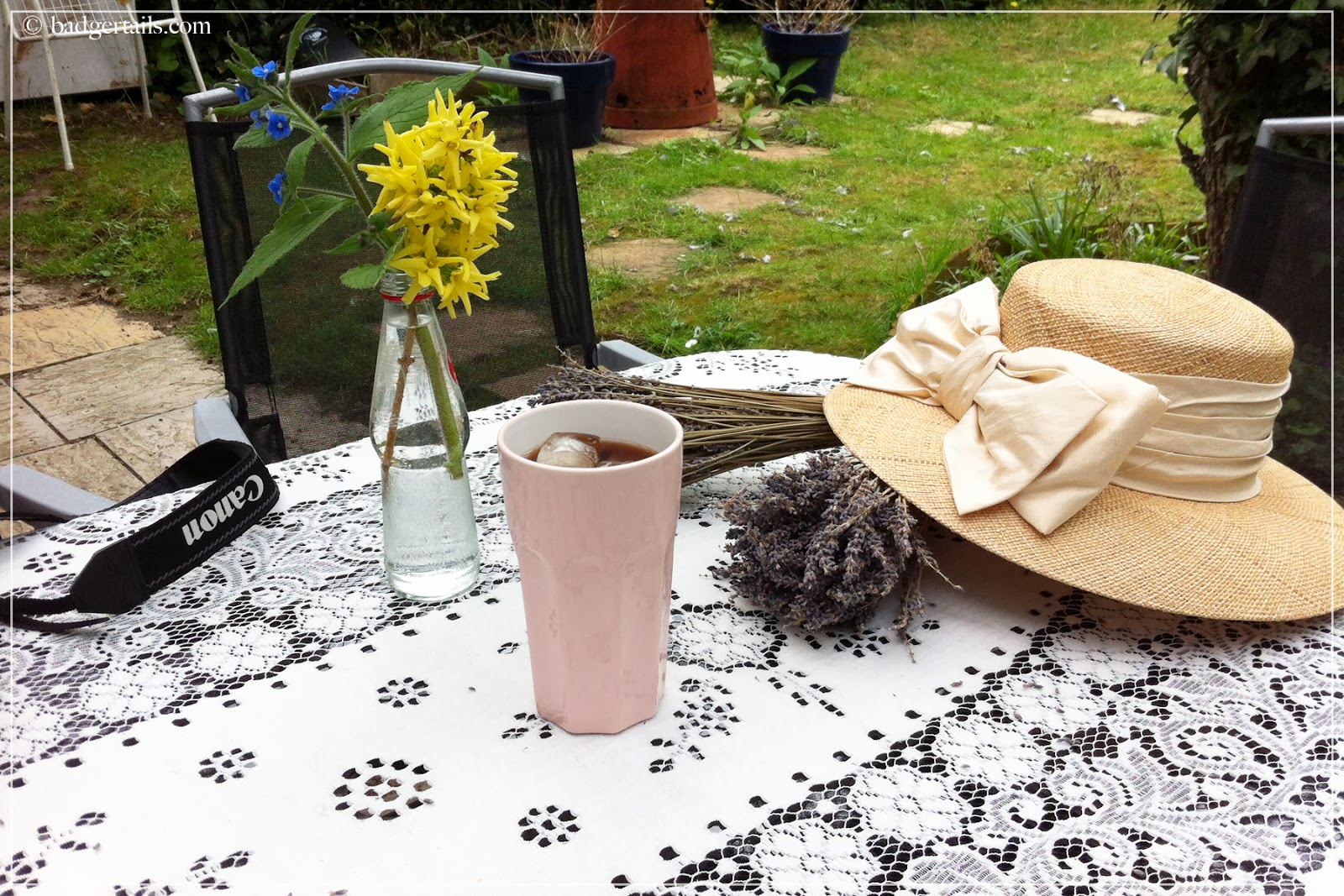 summer in garden photoshoot props
