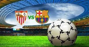 jadwal bola sevilla vs barcelona malam ini