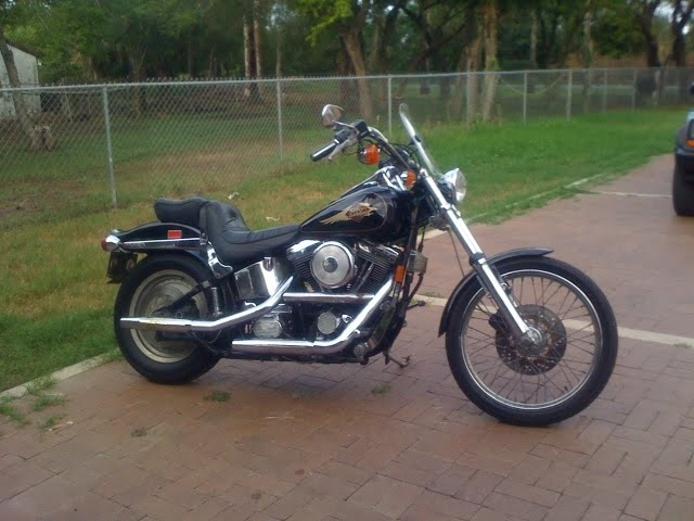 Gary's 1997 Harley FXSTC