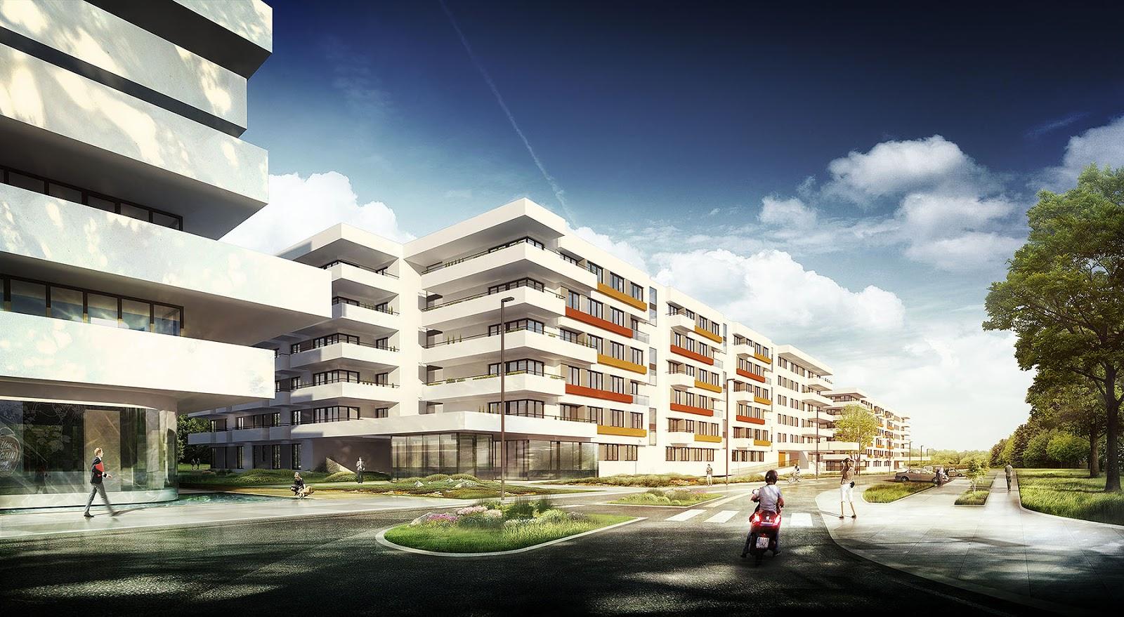 Uniquevisionstudio wizualizacja osiedla mieszkaniowego for Unique one