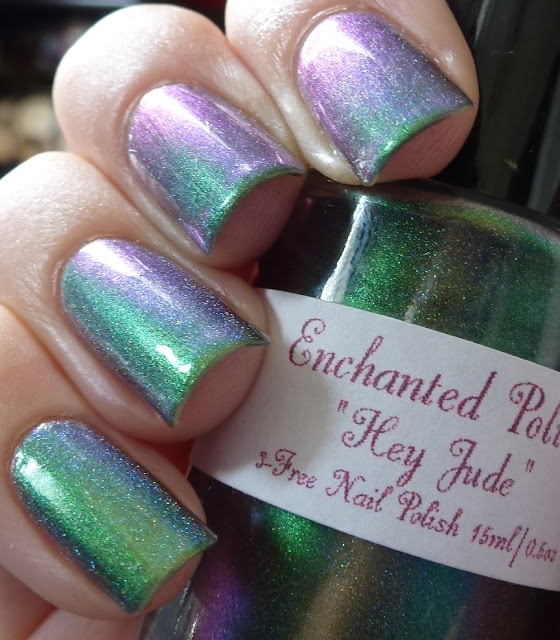 Hey Jude, Enchanted Polish, Beatles, swatch