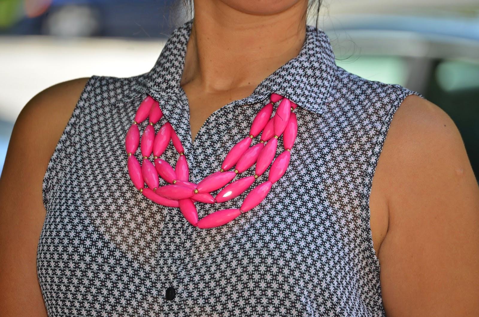Maxi Collar Fucsia