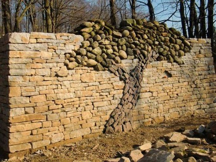 Las fotos mas alucinantes muros de piedra - Imagenes de muros de piedra ...