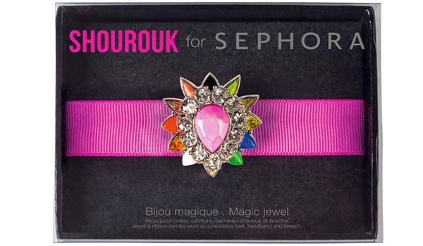 Shourouk para Sephora coleção de make bijoux