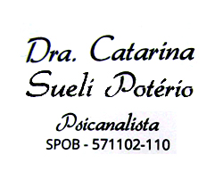 Dra Catarina Psicanalista