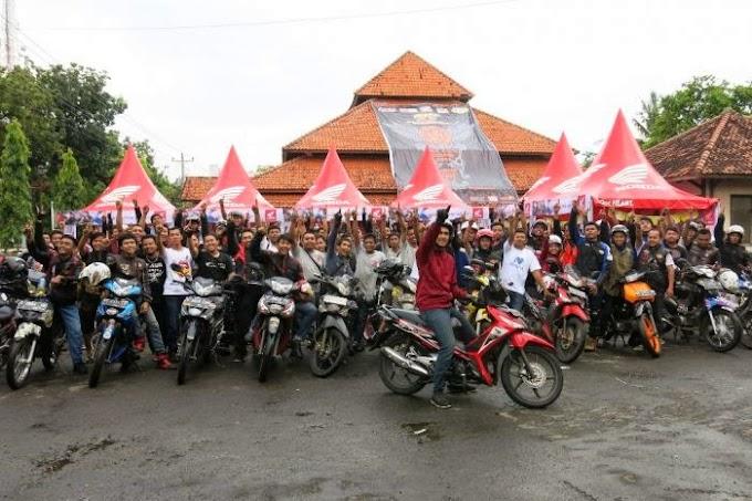 Peringatan 17 Tahun Honda Supra Dihadiri 1000 Biker