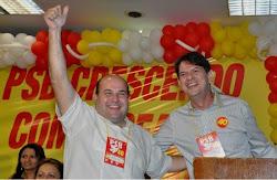 """""""Quem quer uma cidade diferente tem Roberto Cláudio como candidato"""", diz Cid"""