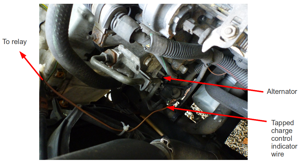 Alternator+charge+control+wire+labeled citroen dispatch split charge relay leisure battery setup,Alternator Indicator Wiring